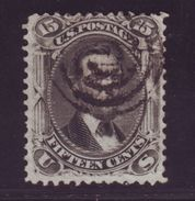 USA 1867 15c LINCOLN USED - 1847-99 General Issues