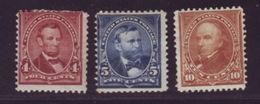 USA 1898-1900 MINT - 1847-99 General Issues