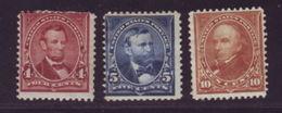 USA 1898-1900 MINT - Unused Stamps