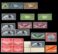 USA 1923-41 AIRMAILS MNH - NICE LOT - United States