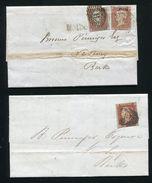 GB VICTORIA NEWBURY BERKSHIRE TRAVELER POSTMARKS 1844/47 - 1840-1901 (Victoria)