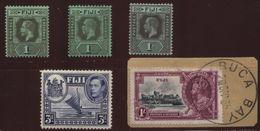 FIJI GEORGE V STAMPS AND SILVER JUBILEE - Fiji (...-1970)