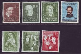 GERMANY EARLY BUNDESPOST MINT ISSUES - Germany