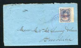 HAWAII MAUI PAAUILO COVER 1895 - Postal History