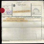 HUNGARY TELEGRAMS CHUJ KOLOZSVAR 1909 AND 1915 - Hungary