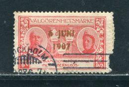 SWEDEN 1907 CHARITY STAMP - Sweden