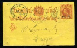 THAILAND/SIAM 1901 STATIONERY - Thailand