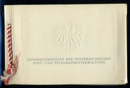 AUSTRIA 1952 PRESENTATION BOOKLET - Austria