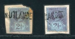 GB QV JUBILEE MARITIME FINLAND PERFINS - 1840-1901 (Victoria)