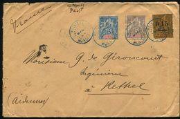 MADAGASCAR NOSSI BE FRANCE MARITIME LA REUNION BETHEL ARDENNES 1904 - Madagascar (1960-...)