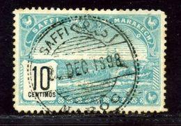 MOROCCO SAFFI MARRAKECH LOCAL POST 1899 Perf 13 RARE - Morocco (1956-...)