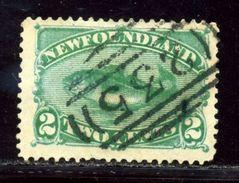 NEWFOUNDLAND 1882 FISH ATLANTIC COD - Canada