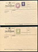 GREAT BRITAIN KING GEORGE 6th TELEGRAM FORMS - 1902-1951 (Kings)