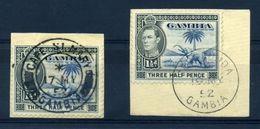 GAMBIA AMAZING POSTMARKS! KG6 - Gambia (...-1964)