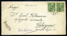 CZECHOSLOVAKIA PRAGUE TO KOLOZSVAR 1916 WWI - Czech Republic
