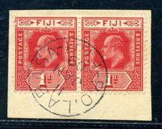 FIJI AMAZING KE7 POSTMARK - Fiji (...-1970)
