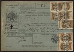 LITHUANIA TYTUVENAI 1928 PARCEL COUPON - Lithuania