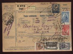 HUNGARY 'SZEGED' PARCEL POST RECEIPT 1928 - Hungary