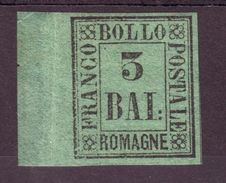 ITALIAN STATES ROMAGNA 1859 COLOUR TRIAL - Italy
