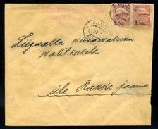 ESTONIA 1921 OVERPRINT COVER TO RAKKE - Estonia
