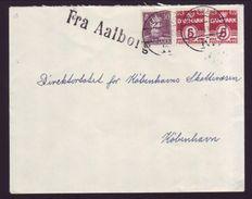 DENMARK SHIPPING FRA AALBORG 1925 - Denmark