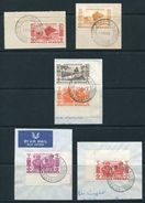 FRENCH NEW HEBRIDES 1953 CANOES, IDOLS, NATIVES - Europe (Other)
