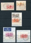 FRENCH NEW HEBRIDES 1953 CANOES, IDOLS, NATIVES - French Legend
