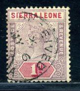 SIERRA LEONE GAMBIA QV POSTMARK - Sierra Leone (...-1960)
