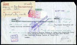 GB / YEMEN 1969 COMBINATION BANK DRAFT - 1952-.... (Elizabeth II)