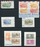 FRENCH NEW HEBRIDES 1949 UPU & 1957 PALMS, COCONUTS - Europe (Other)