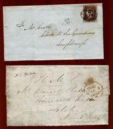 GB LEICESTERSHIRE SKELETON AND MOUNTSORREL VICTORIA 1844/50 - 1840-1901 (Victoria)