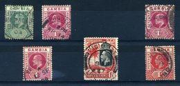 GAMBIA MARITIME KG5 KE7 - Gambia (...-1964)