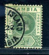 GAMBIA UNUSUAL McCARTHY ISLAND POSTMARK KG5 - Gambia (...-1964)