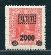 UKRAINE OVERPRINTS 1920s - Ukraine