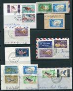 FRENCH NEW HEBRIDES 1963 SET FINE USED FISH BIRDS - Europe (Other)