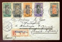 DAHOMEY USED ABROAD IN TOGO WWI RARE COVER - Europe (Other)