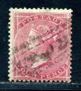 GB - Surface Printed 1855-57 4d Carmine On Blued Paper - 1840-1901 (Victoria)