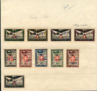 ITALIAN OCCUPATION OF RHODES 1932 SPECIMENS - Italy