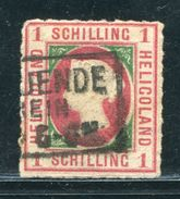 GERMAN STATES HELIGOLAND 1867 1 SCH - Germany