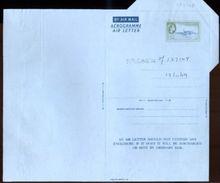 BARBADOS 1959 FLYING FISH AIRLETTER - Barbados (...-1966)