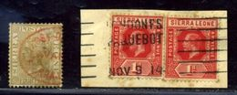 Sierra Leone Amazing Postmarks! - Sierra Leone (...-1960)
