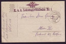 GERMANY LOCOMOTIVE WW1 POSTCARD - Germany