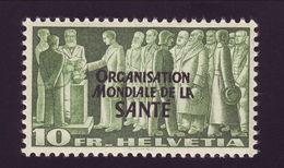 SWITZERLAND 1948 WHO 10 Fr - MNH! - Switzerland