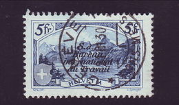 SWITZERLAND 1923 ILO 5 Fr - Switzerland