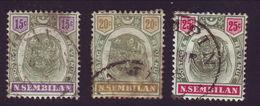 MALAYAN STATES  - NEGRI SEMBILAN NICE LOT - Great Britain (former Colonies & Protectorates)