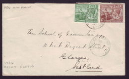 TRINIDAD 1934 'POINT FORTIN' COVER - Unclassified