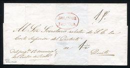 ECUADOR RIOBAMBA TO QUITO 1855 - Ecuador