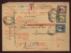SERBIA 'BEOGRAD' PARCEL POST RECEIPT 1912 - Serbia