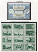 MOROCCO CINDERELLAS REPLY COUPON 1917/1956 - Morocco (1956-...)