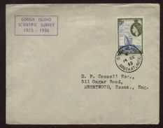 TRISTAN DA CUNHA GOUGH ISLAND 1955 COVER - Tristan Da Cunha